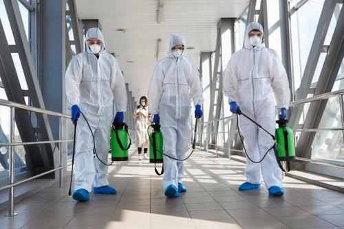 Anti-Viral Sanitising Team